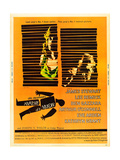 Anatomy of a Murder, Lee Remick, James Stewart on U.S. poster art, 1959 Prints