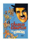 THE CIRCUS, Charlie Chaplin, 1928 Art