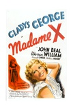 MADAME X, Gladys George, 1937 Posters