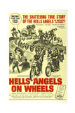 HELLS ANGELS ON WHEELS, 1967 Reproduction giclée Premium