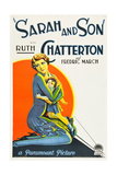 SARAH AND SON, US poster art, from left: Ruth Chatterton, Douglas Scott, 1930 Prints