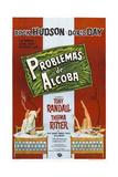 PILLOW TALK, (aka PROBLEMAS DE ALCOBA), Argentinan poster, Rock Hudson, Doris Day, 1959 Posters