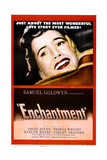 ENCHANTMENT, US poster, Teresa Wright, 1948 Prints