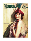 Corinne Griffith, on the cover of Motion Picture Magazine, June 1918 Print