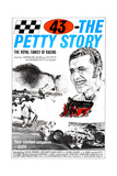 43: THE RICHARD PETTY STORY, (aka SMASH-UP ALLEY), Richard Petty, 1974 Plakater