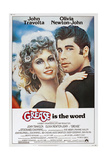 GREASE, Olivia Newton-John, John Travolta, 1978. © Paramount Pictures/Courtesy Everett Collection Affischer