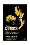 THE SONG OF SONGS, left: Marlene Dietrich, Brian Aherne, 1933 Poster