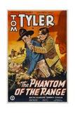 PHANTOM OF THE RANGE, center: Tom Tyler, 1936 Print
