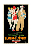 FLAMING FLAPPERS, man holding baby on right: Glenn Tryon, 1925. Prints