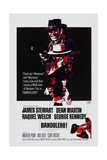 BANDOLERO!, US poster, top: James Stewart, Dean Martin, Raquel Welch, 1968 Posters