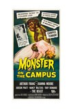 MONSTER ON THE CAMPUS, 1958. Poster
