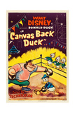CANVAS BACK DUCK, from left: Pete, Donald Duck, Huey, Dewey, Louie, 1953. Art