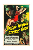 THE SPIDER WOMAN STRIKES BACK Posters