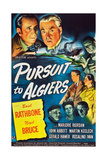 PURSUIT TO ALGIERS, top from left: Basil Rathbone, Nigel Bruce, 1945. Prints