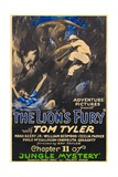 JUNGLE MYSTERY, from left: Cecilia Parker, Tom Tyler in 'Chapter 11: The Lion's Fury', 1932. Posters