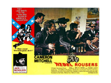 REBEL ROUSERS, (large inset):Bruce Dern (left), 1970. Prints