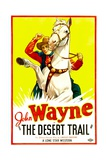 THE DESERT TRAIL, John Wayne, 1935 Posters