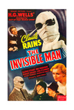 THE INVISIBLE MAN Art