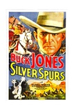 SILVER SPURS, Buck Jones, 1936. Prints