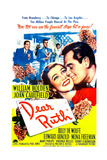 DEAR RUTH, US poster, center from left: Joan Caulfield, William Holden, 1947 Prints