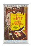 The Pit and the Pendulum, 1961 Posters