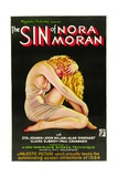 THE SIN OF NORA MORAN, poster art, 1933 Prints