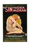 THE SIN OF NORA MORAN, poster art, 1933 Prints