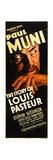 THE STORY OF LOUIS PASTEUR, Paul Muni, 1935. Posters