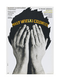 LITTLE BIG MAN, (aka MALY WIELKI CZLOWIEK), Polish poster, Dustin Hoffman, 1970 Posters