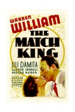 THE MATCH KING, from left: Lili Damita, Warren William, 1932. Art
