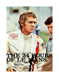LE MANS, Steve McQueen on Japanese poster art, 1971 Prints