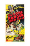THE LONE RANGER RIDES AGAIN, Robert Livingston, 1939 Prints