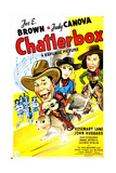 CHATTERBOX, US poster, from left: Joe E. Brown, Rosemary Lane, Judy Canova, 1946 Prints