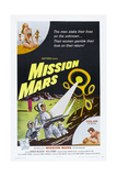 MISSION MARS, US poster, bottom right: Nick Adams, Heather Hewitt, 1968 Art
