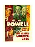 THE KENNEL MURDER CASE, William Powell, Mary Astor, 1933 Print