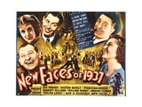 NEW FACES OF 1937 Print
