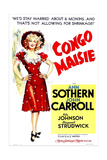 CONGO MAISIE, US poster, Ann Sothern, 1940 Posters