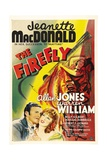 THE FIREFLY, bottom from left: Allan Jones, Jeanette MacDonald, 1937 Prints