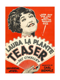 THE TEASER, Laura La Plante, 1925. Posters