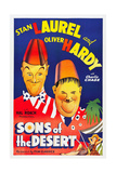 SONS OF THE DESERT, Stan Laurel, Oliver Hardy, 1933. Prints
