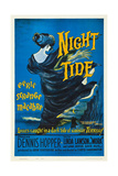 NIGHT TIDE, US poster, 1961 Posters