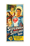 SUPERMAN IN SCOTLAND YARD Prints
