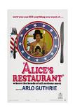 Alice's Restaurant, Arlo Guthrie, 1969 Posters