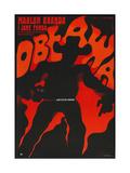 THE CHASE, (aka OBEAWA), Polish poster, 1966 Poster