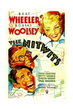 THE NITWITS, top right: Betty Grable, bottom left from top: Robert Woolsey, Bert Wheeler, 1935. Prints