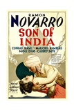 SON OF INDIA, from left: Madge Evans, Ramon Novarro, 1931. Posters