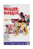 DANGER: DIABOLIK, John Phillip Law, 1968 Prints