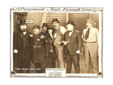 WATCH YOUR NEIGHBOR, 4th from left: Mary Thurman on lobbycard, 1918 Prints