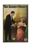 THE SNARE OF SOCIETY, from left: Arthur V. Johnson, Florence Lawrence, 1911. Posters