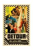 DETOUR, Tom Neal, Claudia Drake, Ann Savage, 1945 Posters